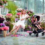 """Bei seinen besonderen Kollektionen zeigt Cybex eine hohe Designaffinität. Neuester Clou des Labels ist die Fashion Collection """"Spring Blossom""""."""