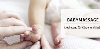 Babymassage: Liebkosung für Körper und Seele