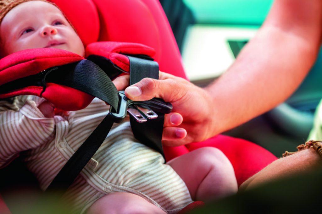 Der Autositz ist ein ganz besonderes  Produkt, denn: Einem Autokindersitz sieht man nicht an, was er leisten kann, wenn es tatsächlich zu einem Unfall kommt. Bild: Maxi-Cosi mit dem Modell Beryl
