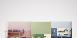 Der italienische Möbelhersteller Nidi überzeugt mit modularen und farbenfrohen Möbeln.