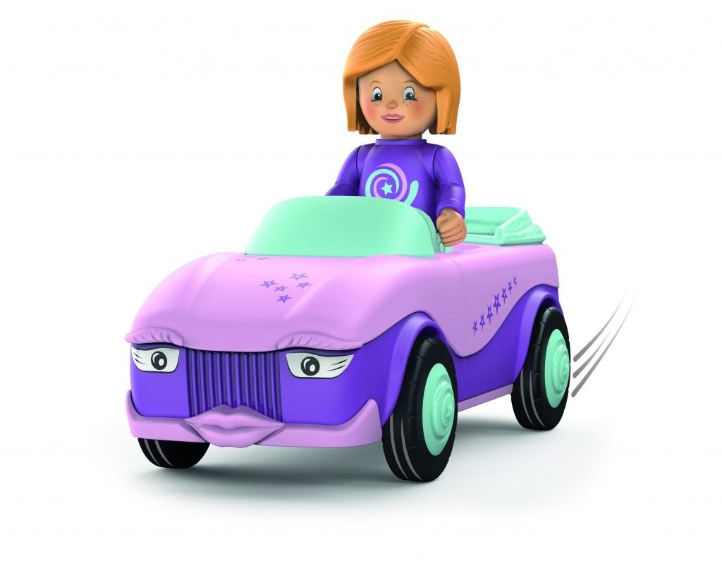 Die Fahrzeuge von Toddys sind untereinander kombinierbar und zum Teil mit Licht und Sound ausgestattet. Ab 14,99 Euro. www.toddysbysiku.com