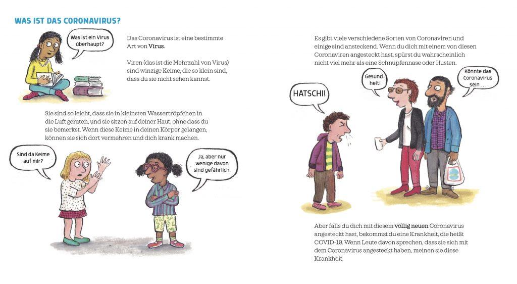 Coronavirus - Ein Buch für Kinder - Nosy Crowd und Beltz und Gelberg - aus dem Buch