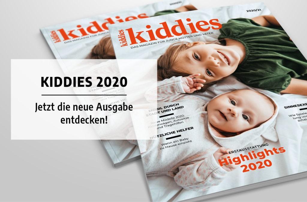 Cover der Kiddies-Ausgabe 2020/21