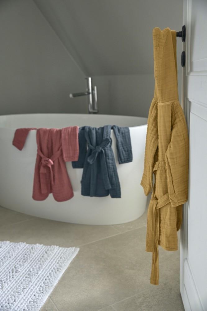 Moderner Look: Die Musselin-Kollektion von Lässig kommt in drei trendigen Farbvarianten daher.