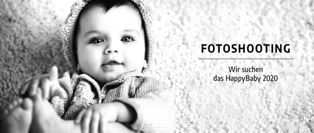 Foto-Shooting: Wir suchen das HappyBaby 2020!