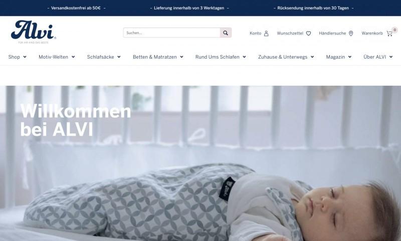 Screenshot der Marke Alvi Alfred Viehhofer