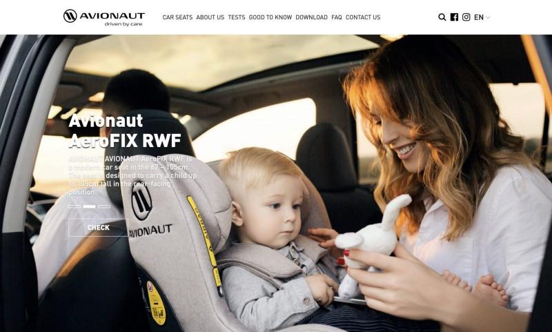 Screenshot der Marke Avionaut