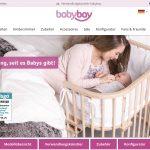 Screenshot der Marke Babybay