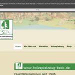 Screenshot der Marke Beck Spielwaren