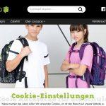 Screenshot der Marke Coocazoo