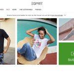 Screenshot der Marke Esprit Kids