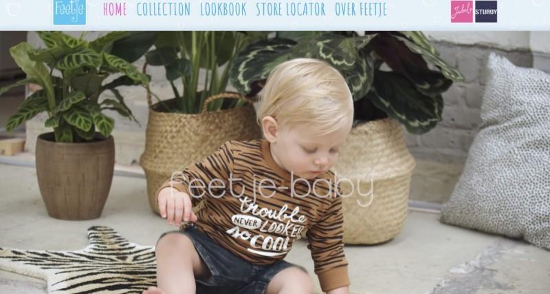 Screenshot der Marke Feetje