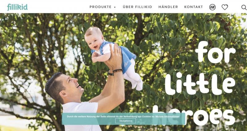 Screenshot der Marke Fillikid