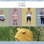 Screenshot der Marke Hust & Claire