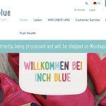 Screenshot der Marke Inch Blue