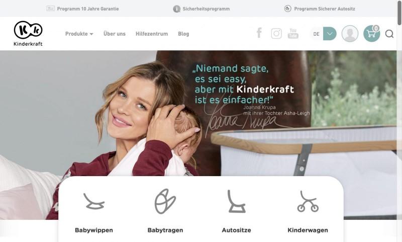 Screenshot der Marke Kinderkraft