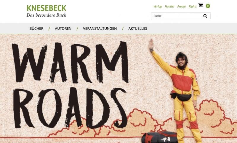 Screenshot der Marke Knesebeck Verlag