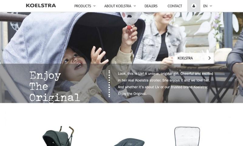 Screenshot der Marke Koelstra
