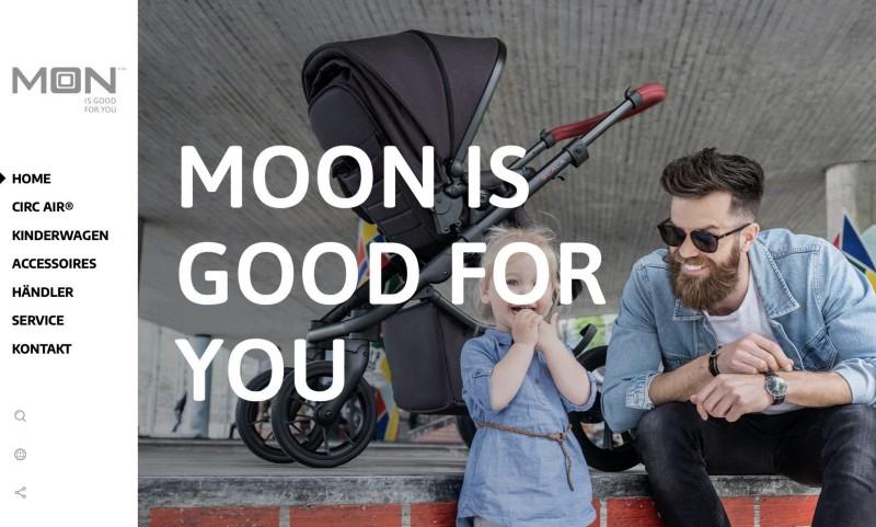 Screenshot der Marke Moon