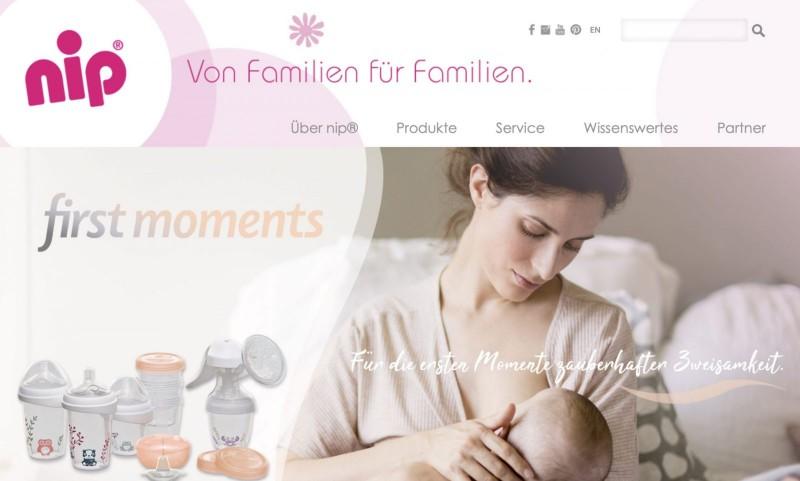 Screenshot der Marke Nip
