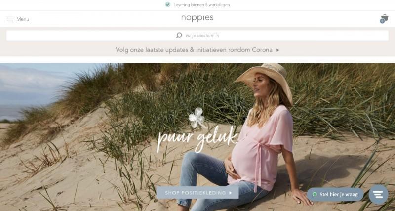 Screenshot der Marke Noppies Baby & Kids