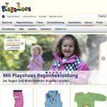 Screenshot der Marke Playshoes
