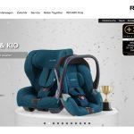 Screenshot der Marke Recaro