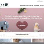 Screenshot der Marke Sebra Interior