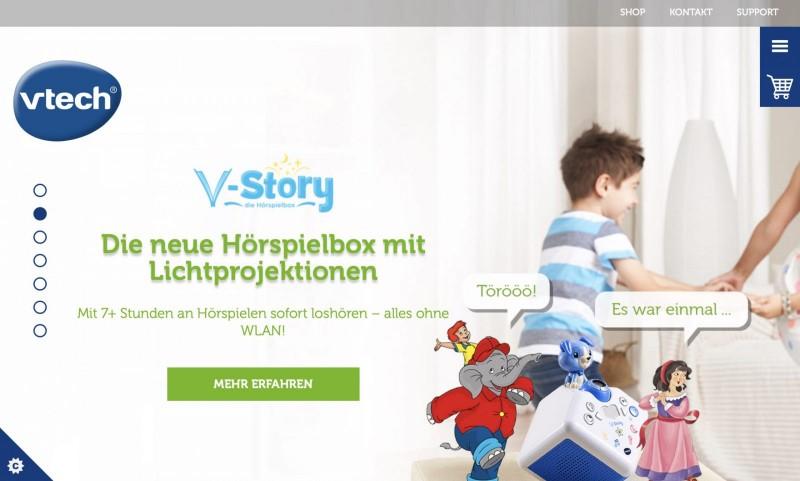 Screenshot der Marke Vtech
