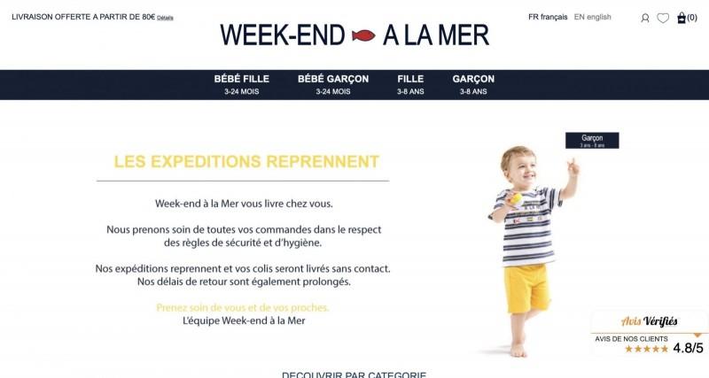 Screenshot der Marke Week-End À La Mer