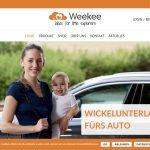Screenshot der Marke Weekee