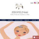 Screenshot der Marke Ziegfeld Kids