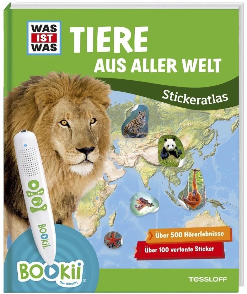 """""""Tiere aus aller Welt"""" aus dem Tessloff Verlag lässt sich mit dem interaktiven Bookii-Stift nutzen."""