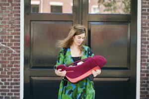 Kinderleicht: Modulare Babyschalen wie der Maxi-Cosi Coral verringern das Gewicht des zu tragenden Teiles des Autositzes.