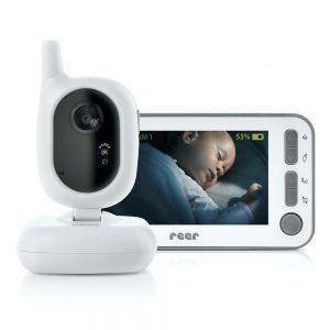 """Dank hochauflösendem Display und Nachtsichtmodus ist die """"BabyCam"""" ein sicherer Begleiter."""