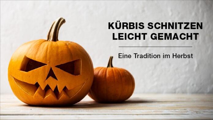 Kürbis schnitzen - Eine Tradition